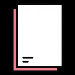 oh my logos papel de carta