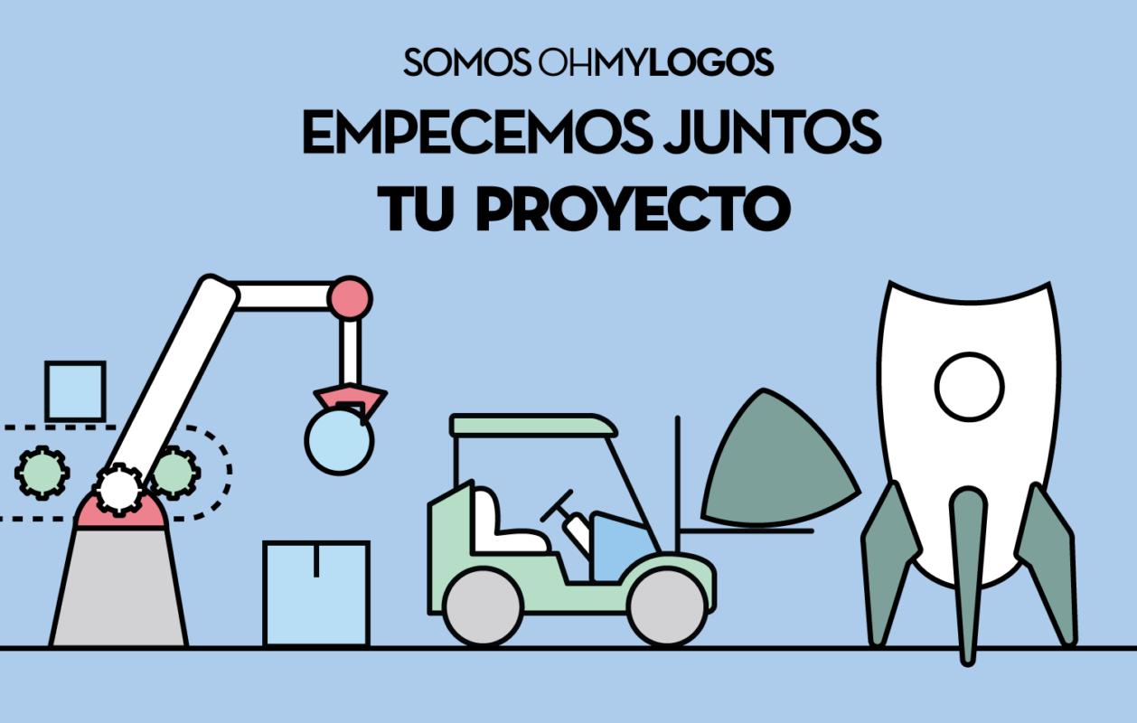 empezemos juntos tu proyecto oh my logos bannermedio branding diseno-grafico